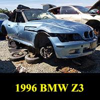 Junkyard 1996 BMW Z3