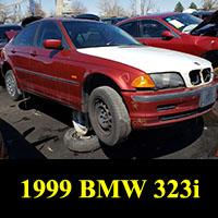Junkyard 1999 BMW 323i