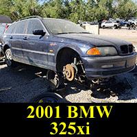 Junkyard 2001 BMW 325XI
