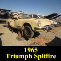 Junkyard 1965 Triumph Spitfire
