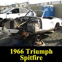 Junkyard 1966 Triumph Spitfire