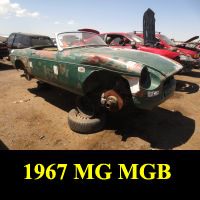 Junkyard 1967 MG MGB