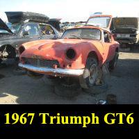 Junkyard 1967 Triumph GT6
