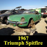 Junkyard 1967 Triumph Spitfire