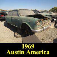 Junkyard 1969 Austin 1800