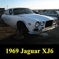 Junkyard 1969 Jaguar XJ6
