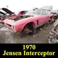 Junkyard 1970 Jensen Interceptor