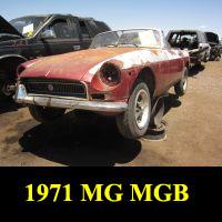 Junkyard 1971 MGB