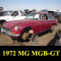 Junkyard 1972 MGB-GT