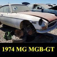 Junkyard 1974 MGB-GT