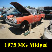 Junkyard 1975 MG Midget