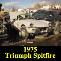 Junkyard 1975 Triumph Spitfire