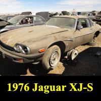 Junkyard 1976 Jaguar XJ-S