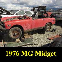 Junkyard 1976 MG Midget