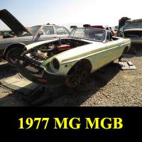 Junkyard 1977 MGB