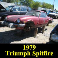 Junkyard 1979 Triumph Spitfire
