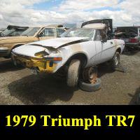 Junkyard 1979 Triumph TR7