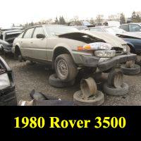 Junkyard 1980 Rover 3500