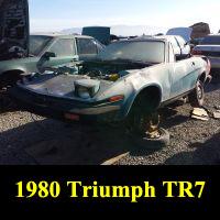 Junkyard 1980 Triumph TR7