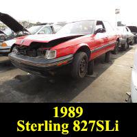 Junkyard 1989 Sterling 827SLi