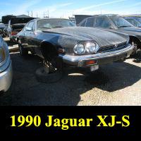 Junkyard 1990 Jaguar XJ-S