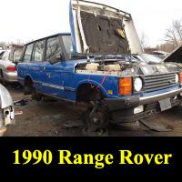 Junkyard 1990 Range Rover
