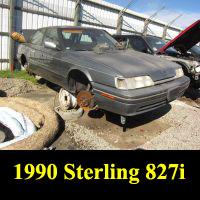 Junkyard 1990 Sterling 827SL