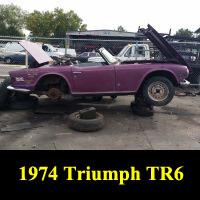 Junkyard 1974 Triumph TR6