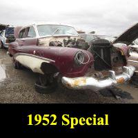 Junkyard 1952 Buick Special