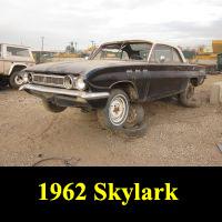Junkyard 1962 Buick Skylark Coupe