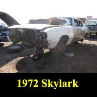 Junkyard 1972 Buick Skylark