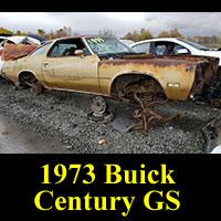 1973 Buick Century GS in Junkyard