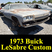 Junkyard 1973 Buick LeSabre