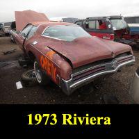 Junkyard 1973 Buick Riviera