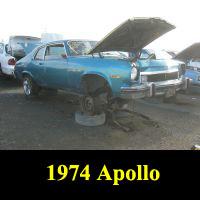 Junkyard 1974 Buick Apollo