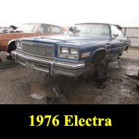 Junkyard  1976 Buick Electra