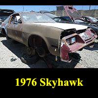 Junkyard 1976 Buick Skyhawk