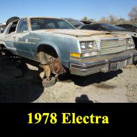 Junkyard 1978 Buick Electra