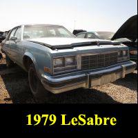 Junkyard 1979 Buick Electra Limited