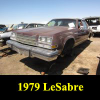 Junkyard 1979 Buick LeSabre