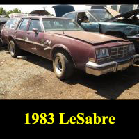 Junkyard 1983 Buick LeSabre Wagon