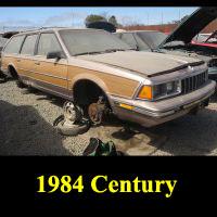 Junkyard 1984 Buick Century Wagon