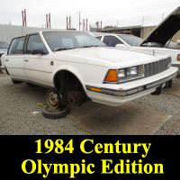 Junkyard Buick-1984CenturyOlympic-1