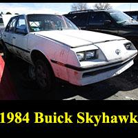 Junkyard 1984 Buick Skyhawk