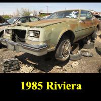 Junkyard 1985 Buick Riviera