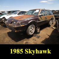 Junkyard 1985 Buick Skyhawk Wagon