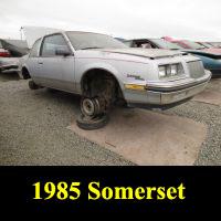 Junkyard 1985 Buick Regal Somerset