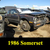 Junkyard 1986 Buick Regal Somerset
