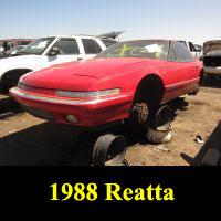 Junkyard 1988 Buick Reatta