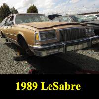Junkyard 1989 Buick LeSabre Wagon